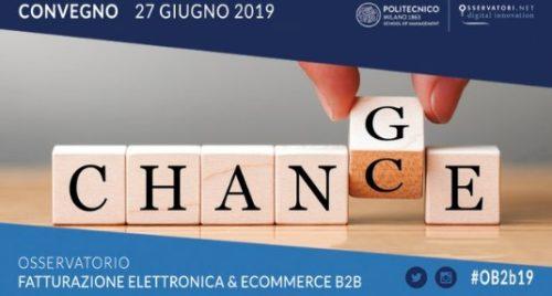 """Conferenza: """"FATTURAZIONE ELETTRONICA: UNA CHANCE PER IL CAMBIAMENTO"""" – Milano, 27 giugno 2019"""